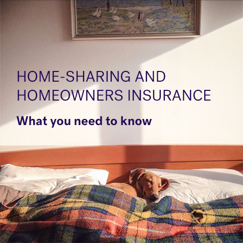 home sharing home insurance